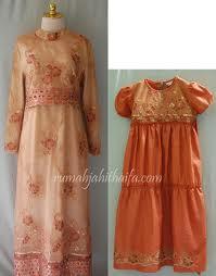 Model Gamis Brokat Baju Muslim Batik